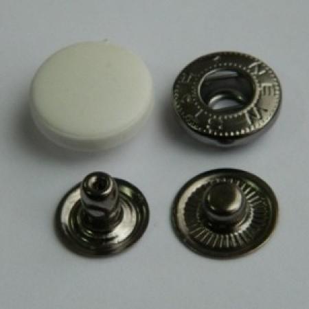 Кнопка пластиковая 15 мм турция белая (720 штук)