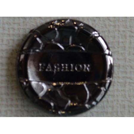 Кнопка декоративная 25 мм №2 блек никель (1000 штук)