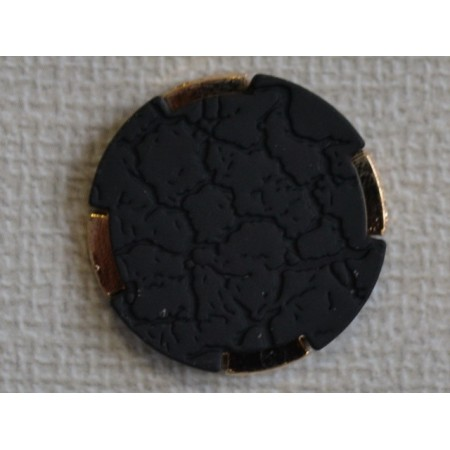 Кнопка декоративная 25 мм №5 золото (1000 штук)