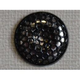 Кнопка декоративная 25 мм №8 блек никель (1000 штук)