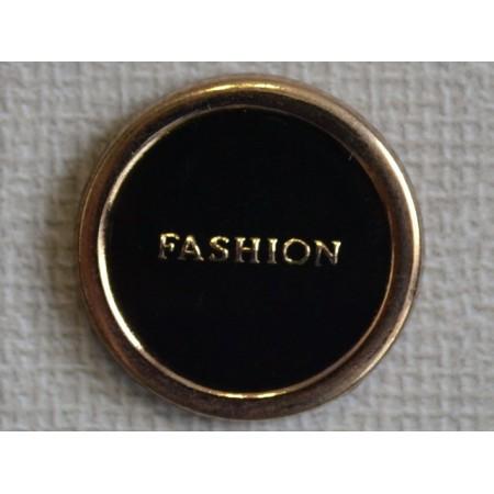Кнопка декоративная 25 мм №17 золото (1000 штук)