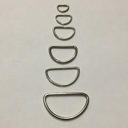 Полукольцо металлическое 30мм (100 штук)