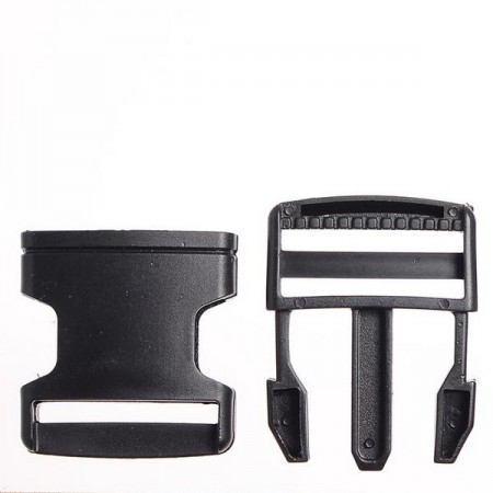 Карабин-фаст 2 см черный (500 штук)