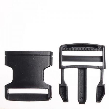Карабин-фаст 2,5 см черный (200 штук)