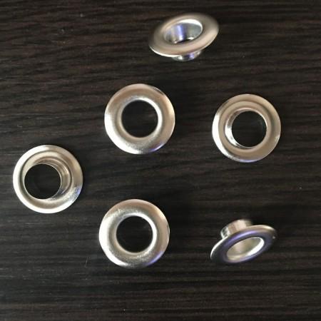 Люверс 13мм №28 Турция никель (1000 штук)
