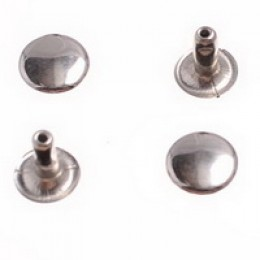 Хольнитен 12х12 мм двухсторонний никель (2000 штук)