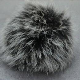 Бубон из натурального меха 6см (Штука)