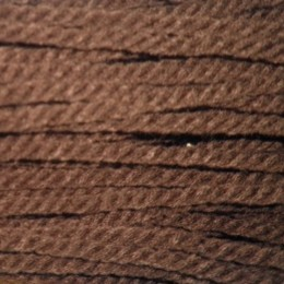 Шнур канат 5мм акриловый коричневый (50 метров)