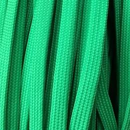 Шнур плоский чехол ПЭ40 10мм зеленый (100 метров)