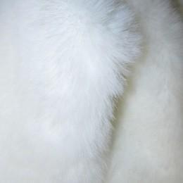 Искусственный мех Кролик белый (метр )