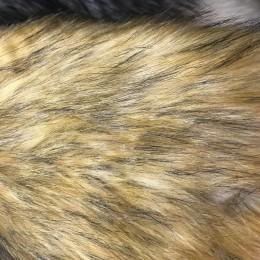 Искусственный мех Кролик коричневый (метр )