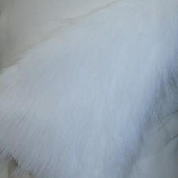 Искусственный мех Песец белый (метр )
