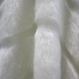 Искусственный мех Норка белая полоса (метр )