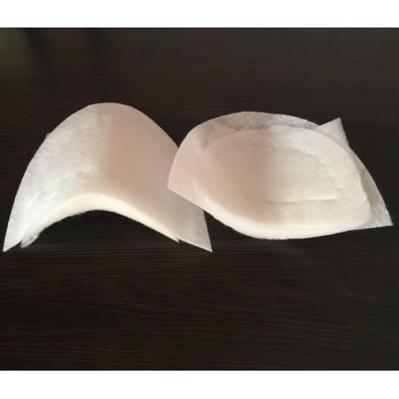 Плечевые накладки, подплечники прямые 6026 (20х150х160мм) (пары)