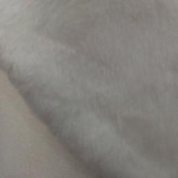 Искусственный мех Мутон белый облегченный (метр )
