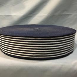 Резинка 60мм полоска синяя (тельняшка) (25 метров)