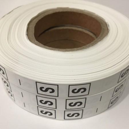 Размерная лента (накатка) S (1000 штук)
