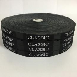Этикетка жаккардовая вышитая Ckassik Style 10мм (1000 штук)