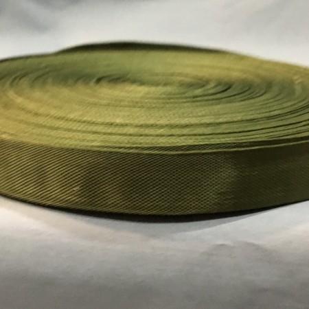 Тесьма-лента окантовка 23мм хаки (50 метров)