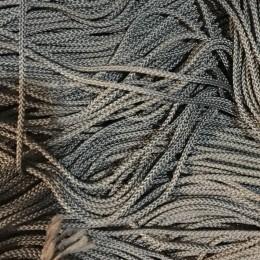 Шнур круглый 2мм серый темный (100 метров)