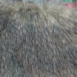 Искусственный мех Песец птичка серая (метр )