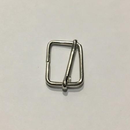 Перетяжка металлическая 2,5смх1,4см (100 штук)