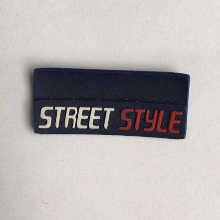 Этикетка силиконовая (изготовление) Street Style 3см х 1,5см (Штука)