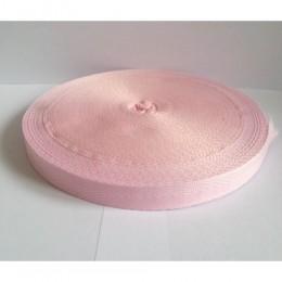Тесьма лента  киперная 15мм №133 розовый (100 метров)