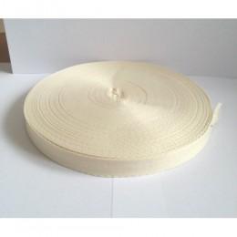 Тесьма лента  киперная 15мм №306 молочный (100 метров)