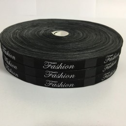 Этикетка жаккардовая вышитая Fashion Style 10мм (1000 штук)