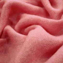 Ткань трикотаж ангора персик (метр )