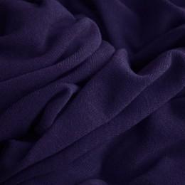 Ткань трикотаж ангора темно-синий (метр )