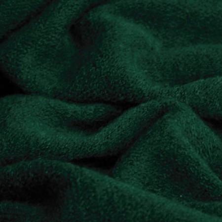 Ткань трикотаж ангора темно-зеленый (метр )