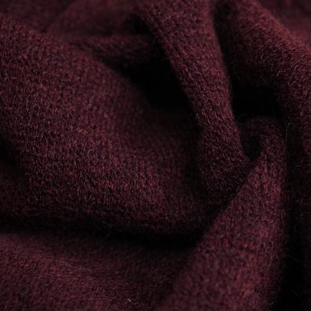 Ткань трикотаж ангора темно-бордовый (метр )