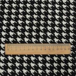 Ткань трикотаж на меху гусиная лапка (метр )