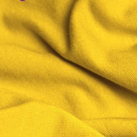 Ткань трикотаж вискоза желтый (метр )