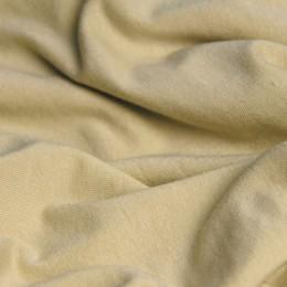 Ткань трикотаж вискоза бежевый (метр )