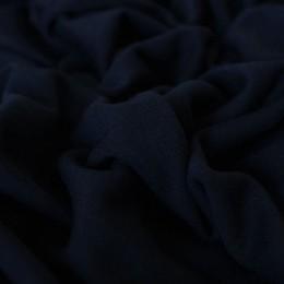 Ткань трикотаж вискоза плотная темно синяя (метр )