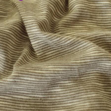 Ткань трикотаж вискоза футболочный Флам (Ирис) меланж бежевый (Килограмм)