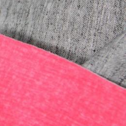 Ткань трикотаж дайвинг однотонный розовый (метр )