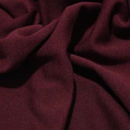 Ткань трикотаж джерси бордовый (метр )