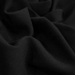 Ткань трикотаж креп-дайвинг черный (метр )