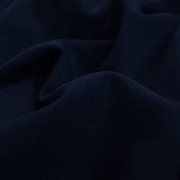 Ткань трикотаж креп-дайвинг темно-синий (метр )