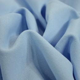 Ткань трикотаж креп-дайвинг голубой (метр )
