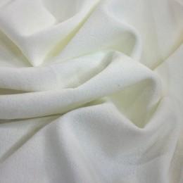 Ткань трикотаж креп-дайвинг молочный (метр )