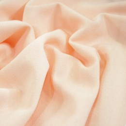 Ткань трикотаж креп-дайвинг персиковый (метр )