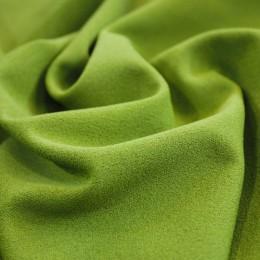Ткань трикотаж креп-дайвинг оливковый (метр )