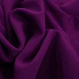 Ткань трикотаж креп-дайвинг фиолетовый (метр )