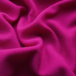 Ткань трикотаж креп фуксия (метр )