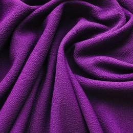 Ткань трикотаж креп фиолетовый (метр )